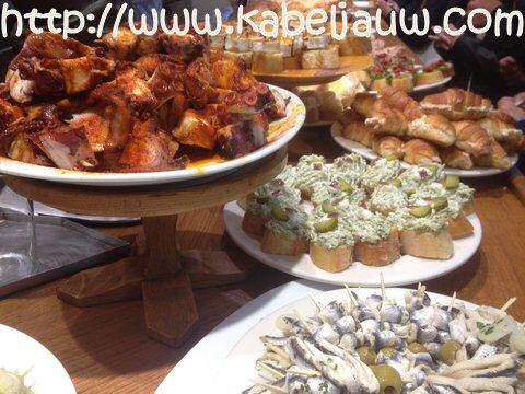 Pintxos: tapas van stokvis en andere aperitiefhapjes uit San Sebastian