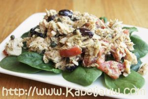 Tonijnsalade zelf maken = lekker en makkelijk genieten