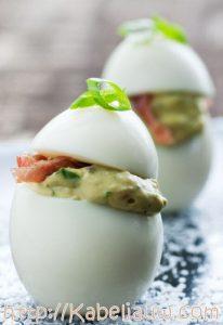 3x Gevulde eieren maken: klassiek met garnalen of nieuw met zalm