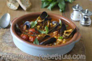 Maak makkelijke Marokkaanse vissoep met mosselen… Mmmm!